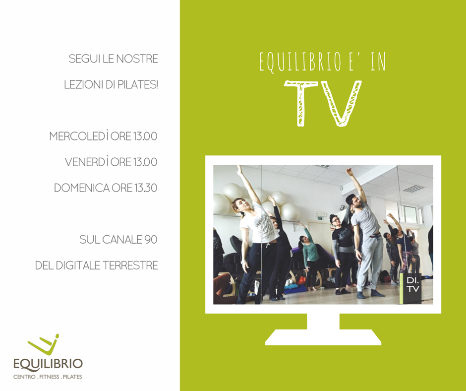 equilibrio in tv equilibrio pilates imola
