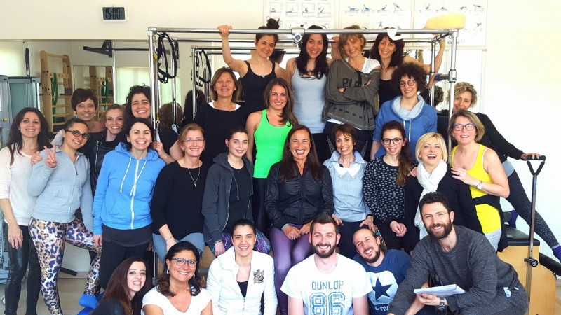 Workshop di pilates a Imola su spalla e torace